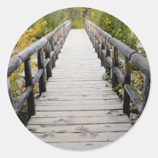 Sticker Rond pont