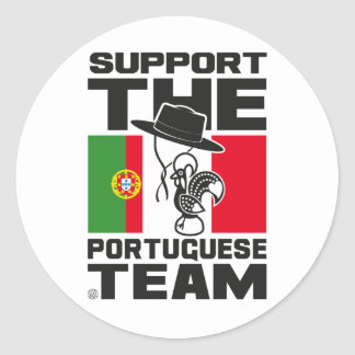 STICKER ROND PORTUGUESE TEAM