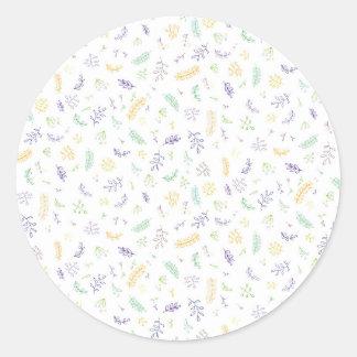 Sticker Rond Pousses