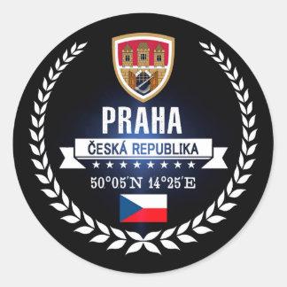 Sticker Rond Praha