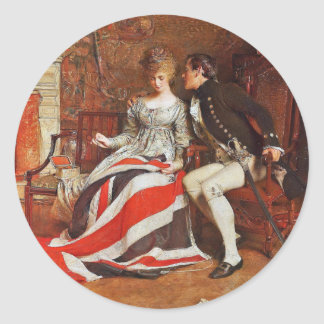 Sticker Rond Premier Union Jack