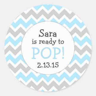 Sticker Rond Préparez pour sauter la faveur de baby