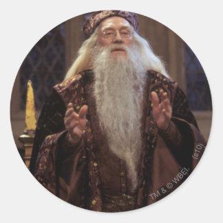 Sticker Rond Professeur Dumbledore