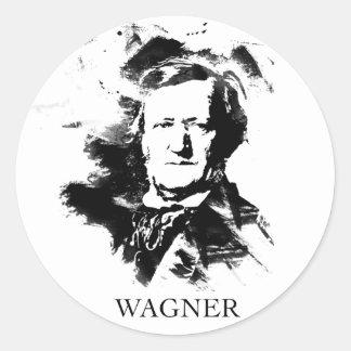 Sticker Rond Richard Wagner