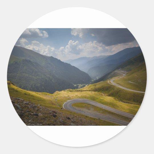 Sticker Rond Romania