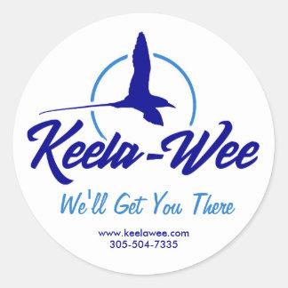 Sticker Rond Rouleau d'autocollants Keela-Petits de chartes
