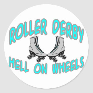 Sticker Rond Rouleau Derby