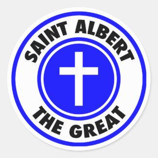 Sticker Rond Saint Albert le grand