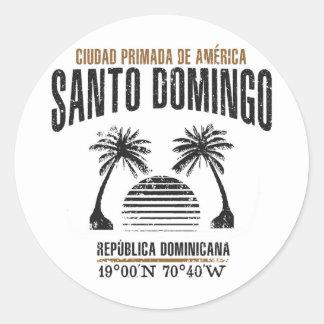 Sticker Rond Saint-Domingue