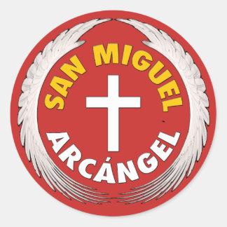 Sticker Rond San Miguel Arcangel