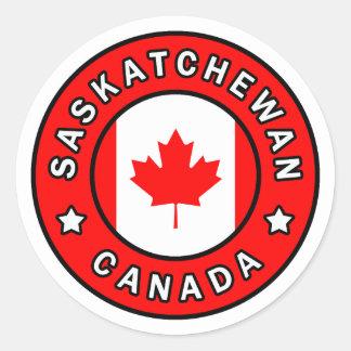 Sticker Rond Saskatchewan Canada