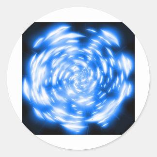 Sticker Rond série abstract 3