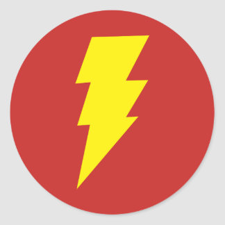 Sticker Rond Shazam