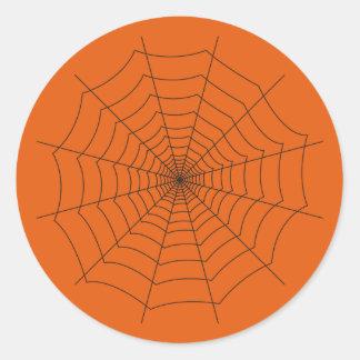 Sticker Rond spider
