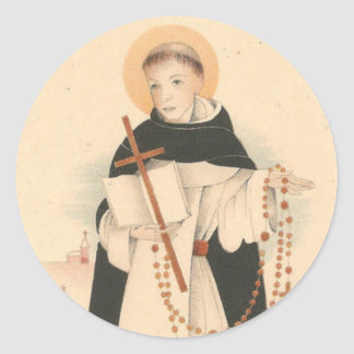Sticker Rond St Dominic avec le chapelet