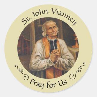 Sticker Rond St John Vianney festin 4 août