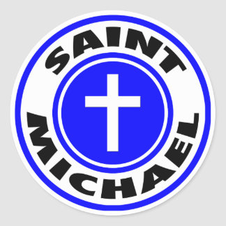 Sticker Rond St Michael