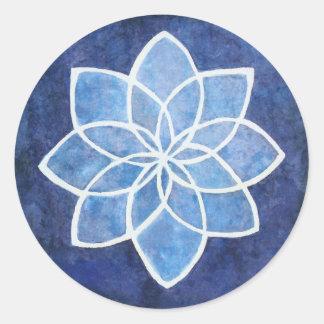 Sticker Rond Starflower