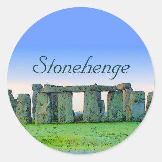Sticker Rond Stonehenge