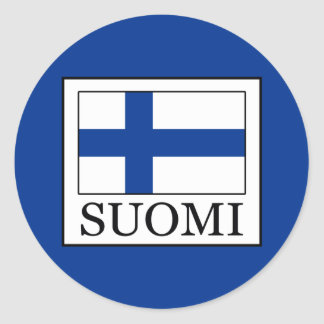 Sticker Rond Suomi