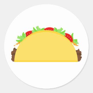 Sticker Rond Taco