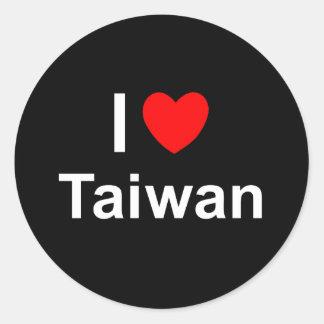 Sticker Rond Taïwan