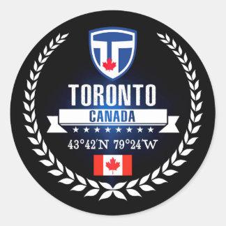 Sticker Rond Toronto