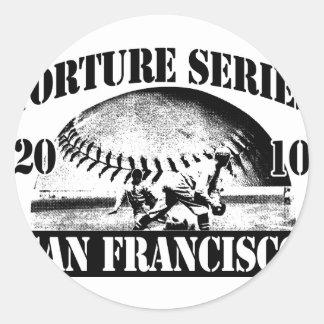 Sticker Rond TortureSeriesTrans300