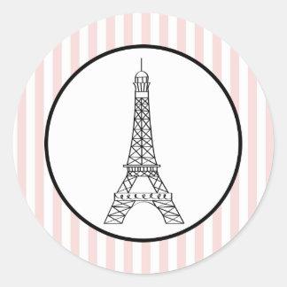 Sticker Rond Tour Eiffel