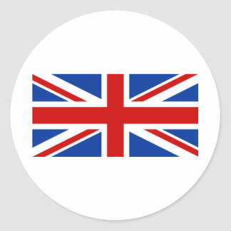 Sticker Rond Union Jack