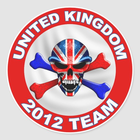 Sticker Rond united kingdom