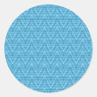 Sticker Rond vagues 06