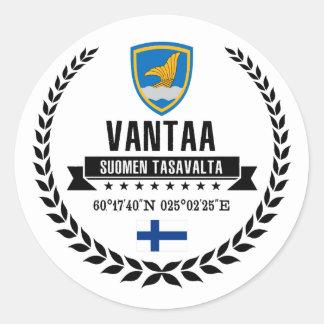 Sticker Rond Vantaa