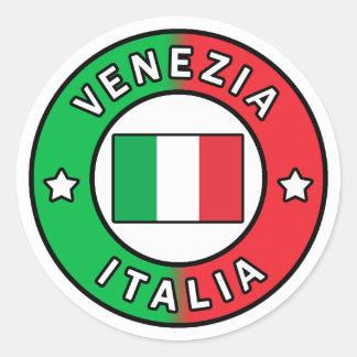 Sticker Rond Venezia Italie