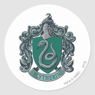 Sticker Rond Vert de crête de Harry Potter | Slytherin