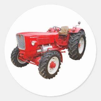 Sticker Rond Vieux tracteur Güldner G 75 AS