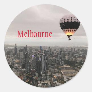 Sticker Rond Ville de Melbourne