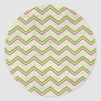 Sticker Rond waves12