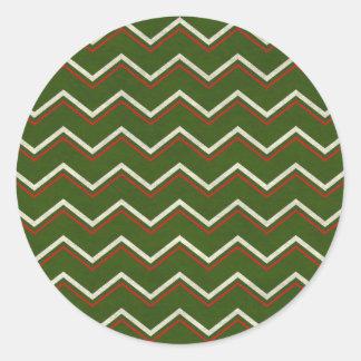Sticker Rond waves17