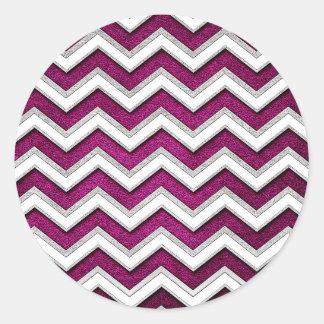 Sticker Rond waves20