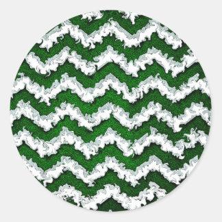 Sticker Rond waves22