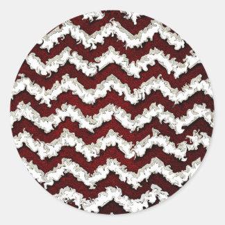 Sticker Rond waves23