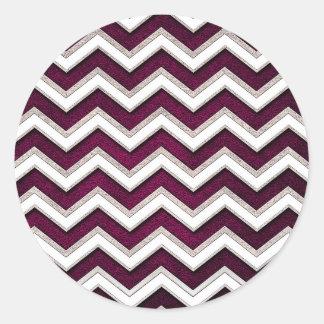 Sticker Rond waves24