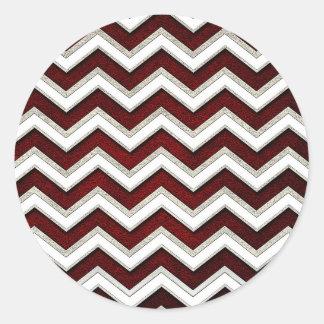 Sticker Rond waves26