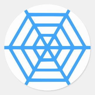 Sticker Rond Web