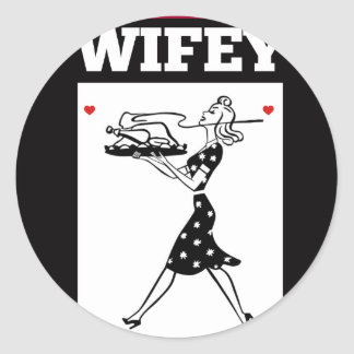 STICKER ROND WIFEY