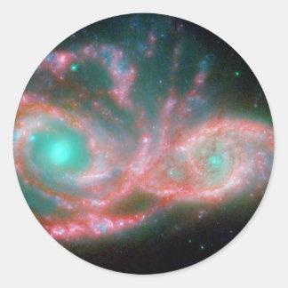 Sticker Rond Yeux dans la NASA du ciel NGC 2207