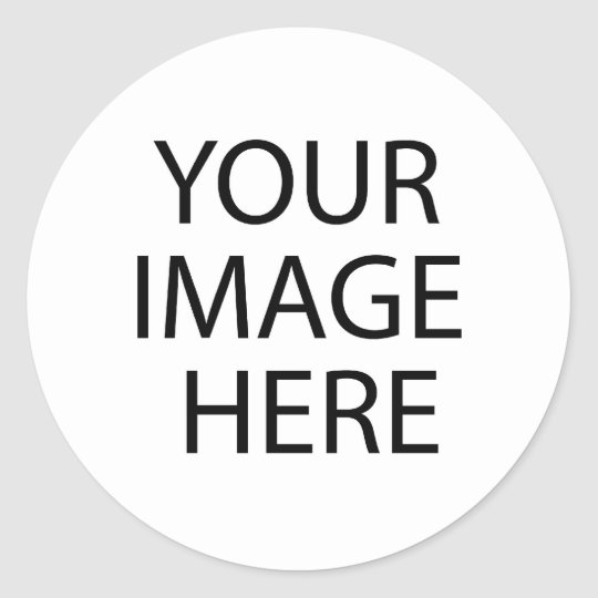 Sticker Rond your image here