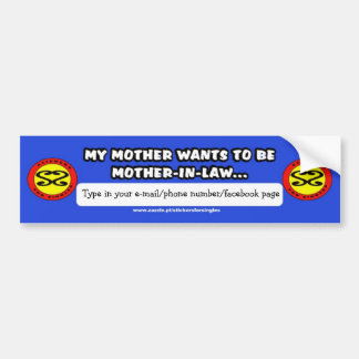 Sticker sera Singles Adhésifs Pour Voiture