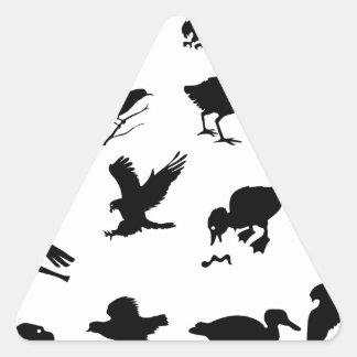 Sticker Triangulaire 48birds